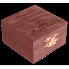 Шкатулка для мелочей Махагон