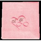 Льняная Салфетка Розовая